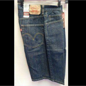 """Levi's 29"""" Waist 569 Loose Fit Blue Jeans Shorts"""